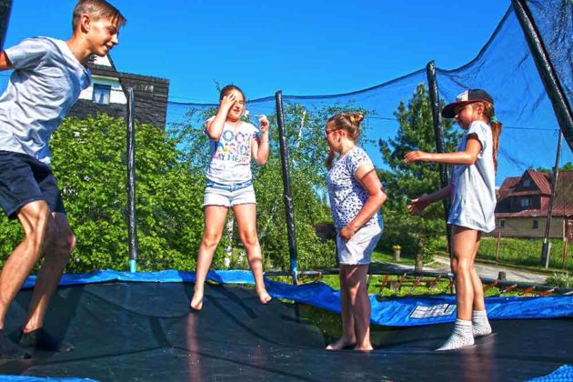 Ośrodek Wypoczynkowy U Gosi i Pawła - trampolina