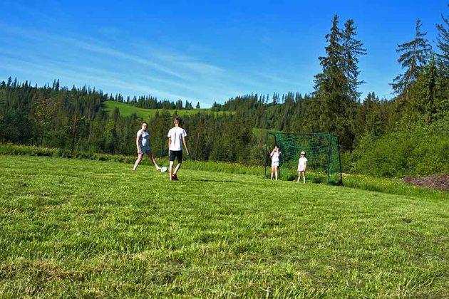Ośrodek Wypoczynkowy U Gosi i Pawła - boisko sportowe