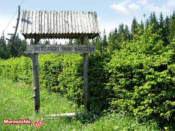 Położenie Murzasichle - Tatrzański Park Narodowy