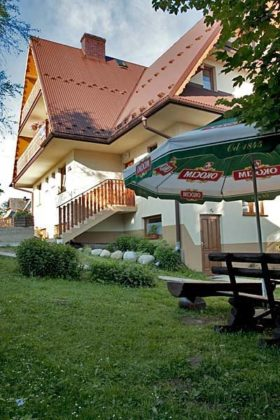Pokoje Gościnne Teklarz - ogród